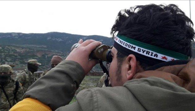 Турция ввела танки и пехоту в Сирию и продвигается вглубь страны