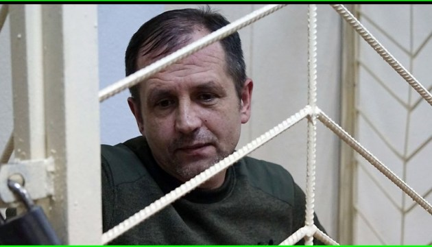 Crimean activist Balukh is on hunger strike already for a month