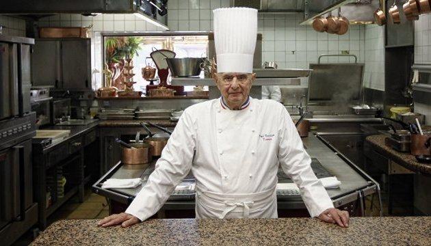Помер легендарний французький шеф-кухар Поль Бокюз