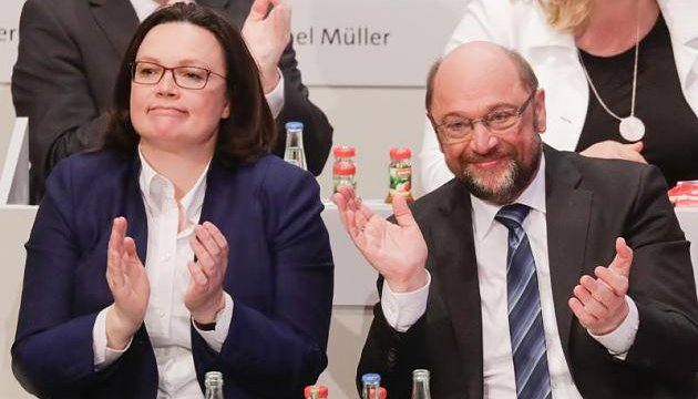 Продовження німецької коаліціади: Шульц отримав мандат