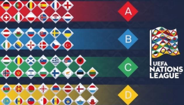 Жеребкування нового футбольного турніру - Ліги націй пройде сьогодні у Швейцарії