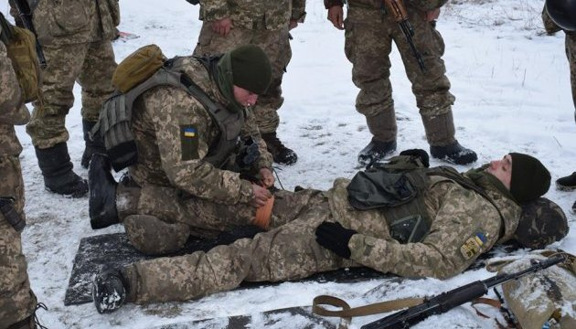 Two Ukrainian soldiers wounded, another one injured in Donbas in last day