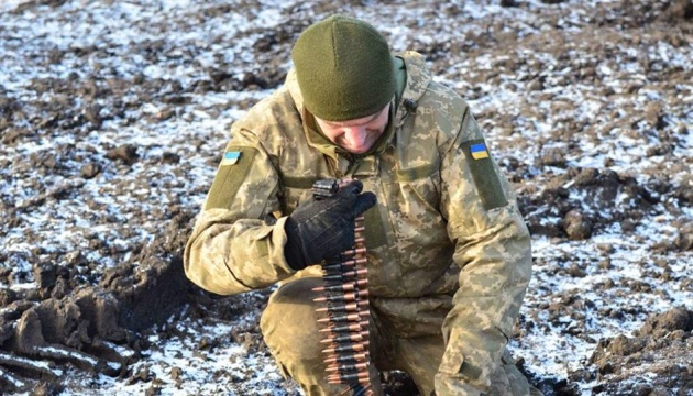 Militants launched four attacks on Ukrainian troops in Donbas in last day