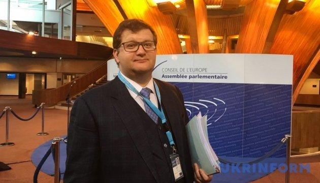 Ariev: La delegación ucraniana en la APCE tiene un plan de acción y sabe qué hacer aunque la situación es muy complicada