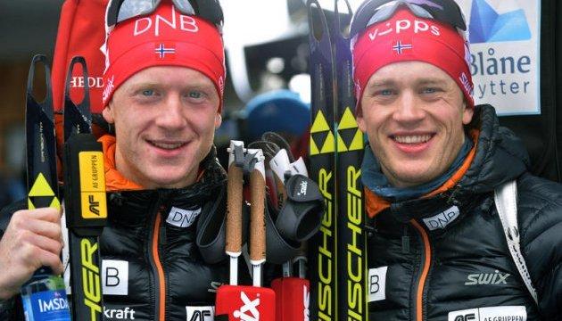 Біатлон: стали відомі імена норвежців, які виступлять у спринті на Олімпіаді-2018