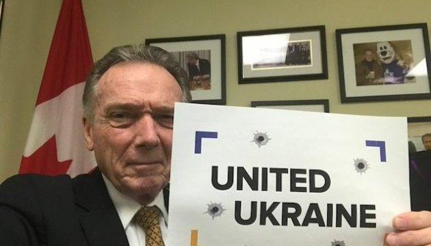 Еще один канадский депутат присоединился к флешмобу #УкраїнаЄдина