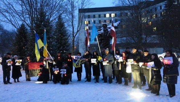 В столиці Латвії відзначили День Соборності України та 100-річчя УНР
