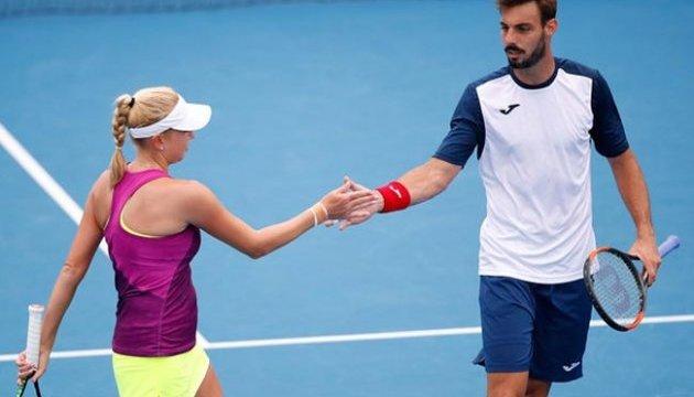 Надежде Киченок не удалось пробиться в 1/4 финала Australian Open в миксте