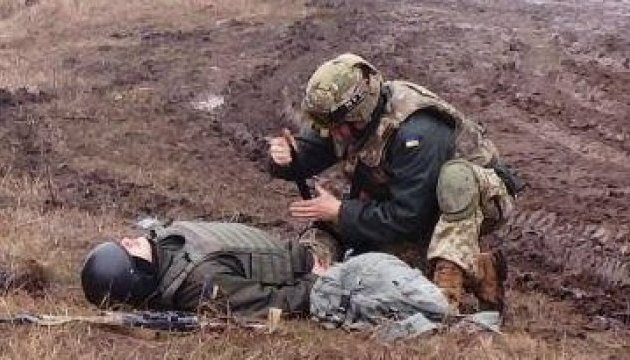 Le bilan de l'ATO : deux militaires ukrainiens blessés