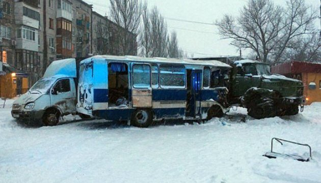 ДТП за участю військового КРАЗу: четверо постраждалих у лікарні