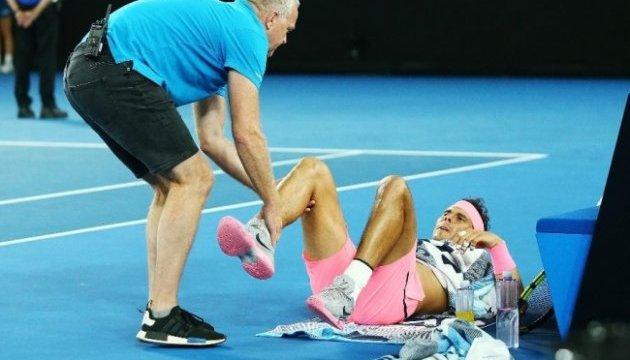 Australian Open: Надаль знявся в п'ятому сеті, Чилич вийшов до півфіналу