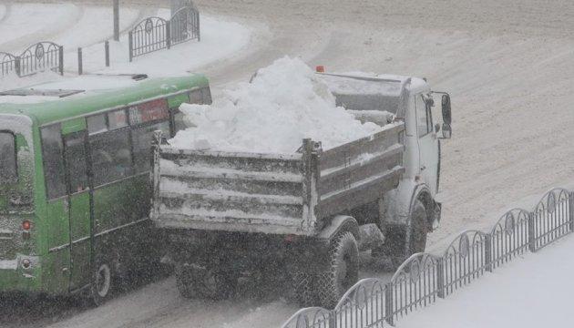 Schneewetter in Ukraine: Ohne Strom bleiben mehr als 60 Ortschaften