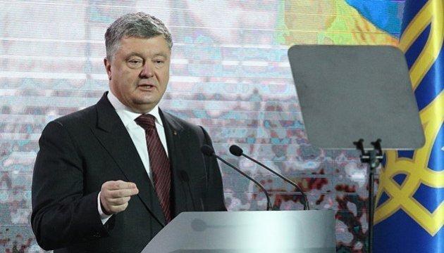Poroschenko gratuliert Malta zum Tag der Freiheit