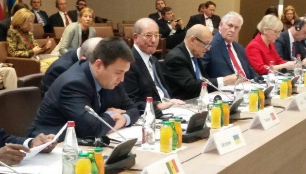 Клімкін бере участь у міністерській конференції у Парижі
