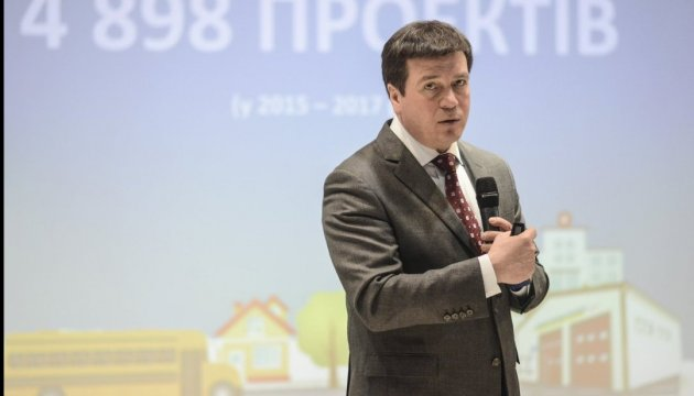 Vice PM Zubko determines budget-funded projects for development of regions