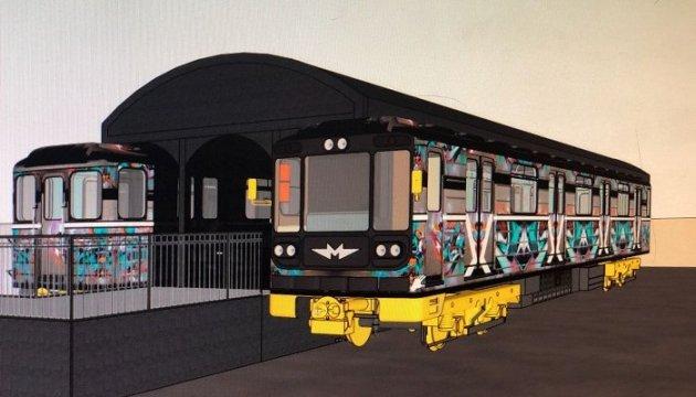 Deux anciens wagons du métro de Kyiv seront transformés en bar et en hôtel