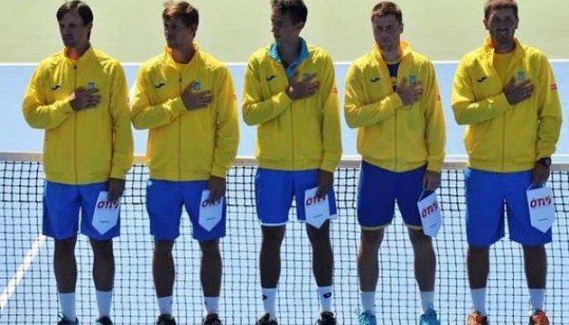 Став відомий склад чоловічої збірної України на матч зі шведами в Кубку Девіса