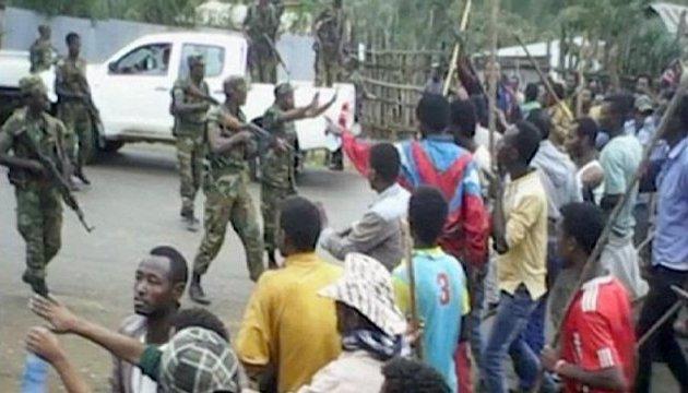Протесты в Эфиопии: полиция открыла огонь за антиправительственные песни, есть погибшие