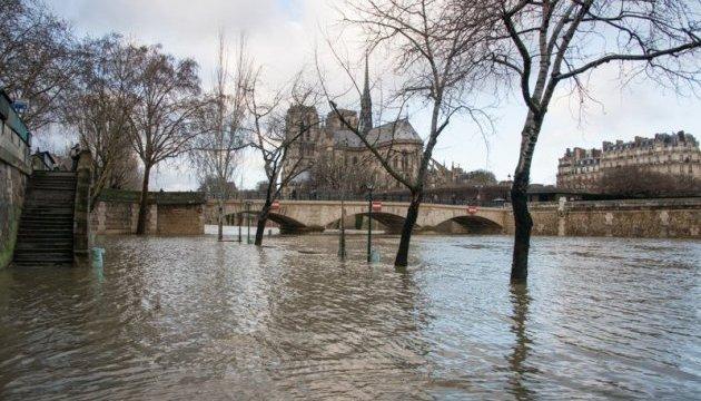 У Франції Сена та Рейн вийшли з берегів