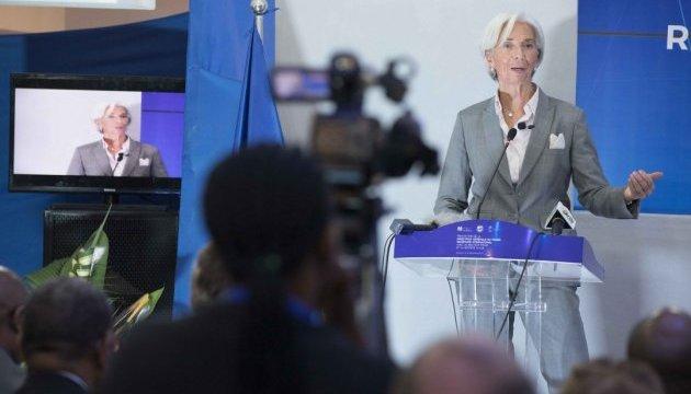 Глава МВФ Крістін Лагард йде у відставку