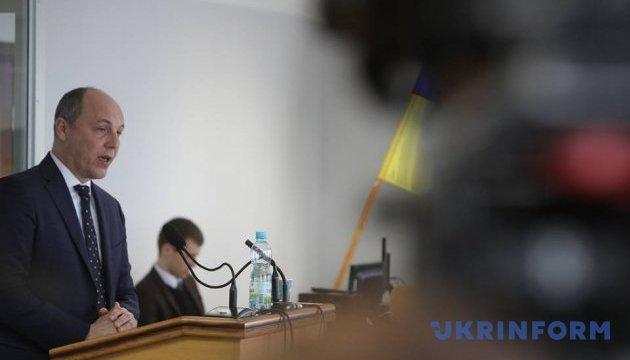 Початком російської агресії були Харківські угоди щодо Чорноморського флоту - Парубій