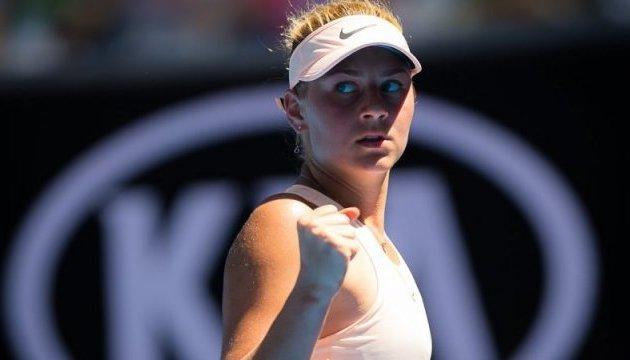 Теніс: 15-річна українка Марта Костюк з нетерпінням очікує на дебют у Кубку Федерації