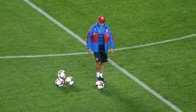 Наставник футболістів Чехії: Україна - вкрай амбітна команда