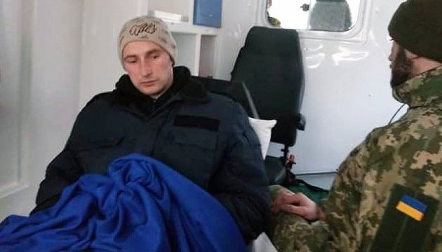 Ukrainian serviceman Roman Savkov released from militants' captivity