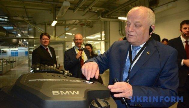 Україна використає досвід BMW для автомобільних інновацій - Кубів
