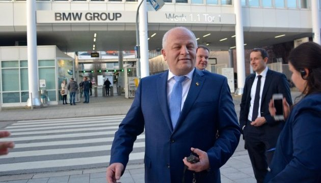 Vice PM Kubiv: Ukraine uses experience of BMW for automobile innovations. Photos