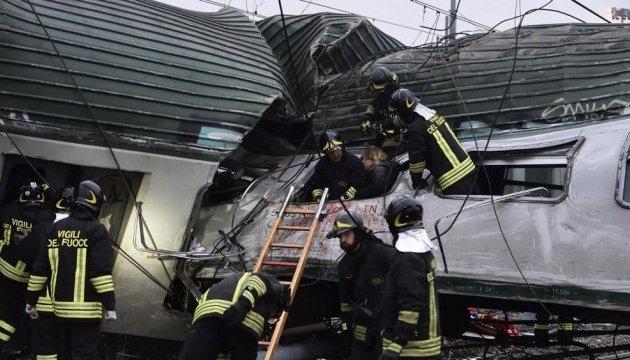 Авария поезда в Милане: число погибших возросло