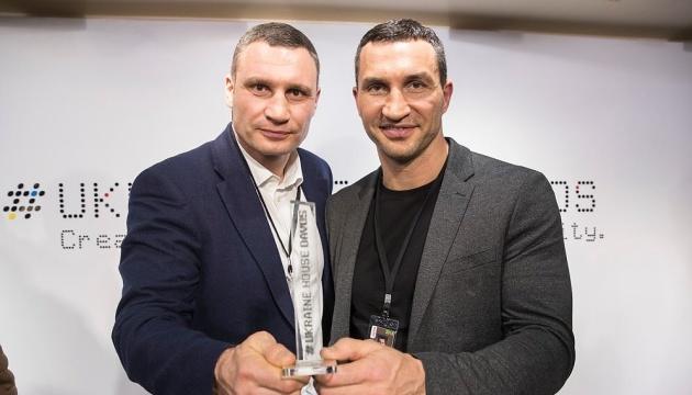 Кличко в Давосе наградили за успешное продвижение положительного образа Украины в мире