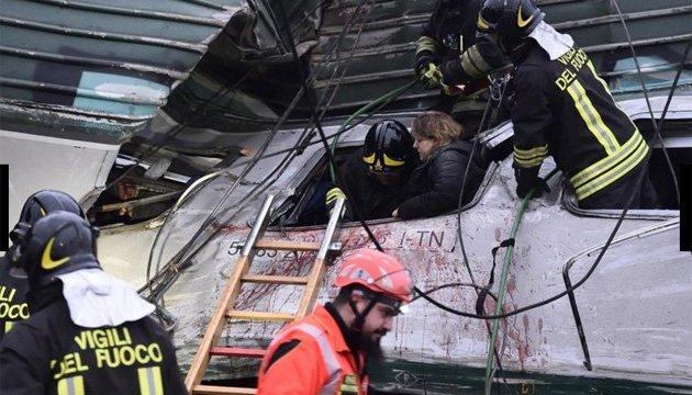 МИД выясняет, пострадали ли украинцы при аварии поезда в Италии