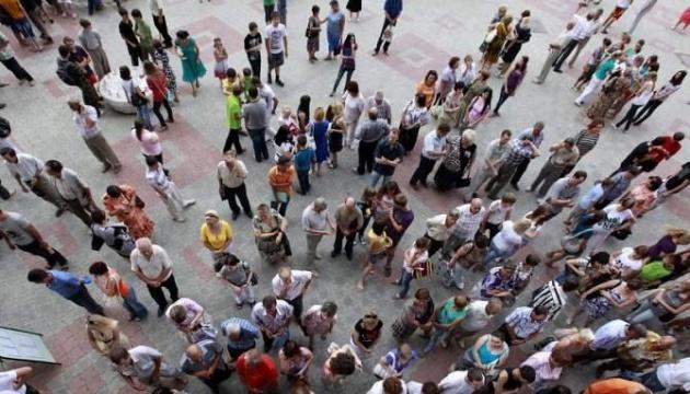 Українців, які вважають, що країна йде правильним курсом, 45%