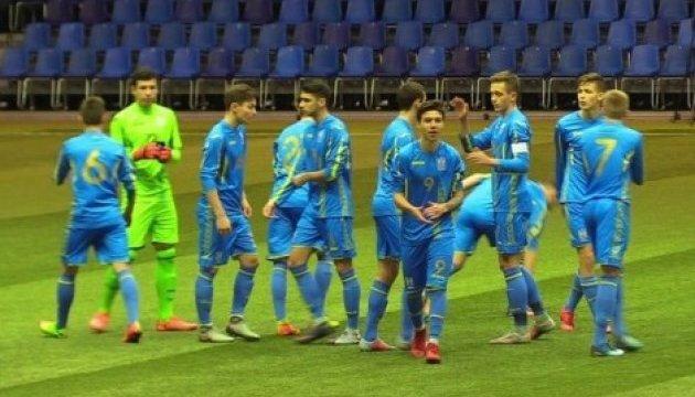 Футбол: юношеская сборная Украины выиграла три матча подряд на