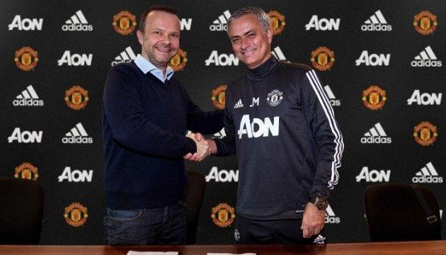 «Манчестер Юнайтед» підписав новий контракт з Жозе Моурінью