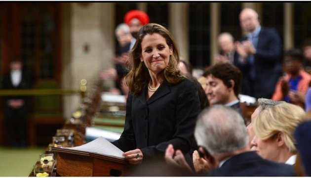 Chrystia Freeland: Canada unwavering in its support for Ukraine