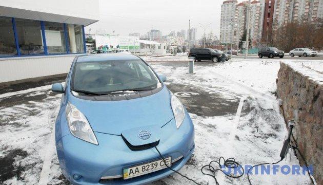 За три квартала этого года в Украине зарегистрировали на 54% больше электрокаров