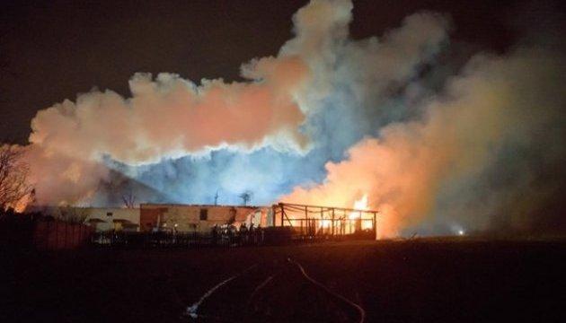 В Польше из-за взрыва на газопроводе загорелись четыре дома