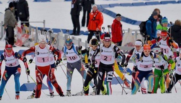 """Украина выиграла """"золото"""" чемпионата Европы по биатлону в смешанной эстафете"""