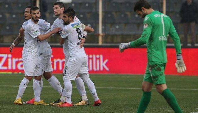 Украинец Селезнев во второй раз забивает за «Акхисар Беледие»