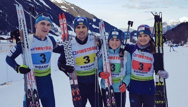 Гройсман привітав українських біатлоністів з перемогою на Чемпіонаті Європи