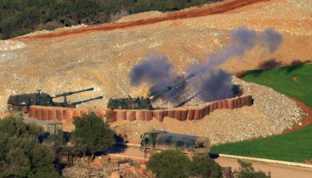 Турецкая армия усилила наступление на севере Сирии