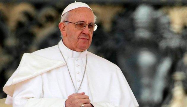 Папа Римський зізнався, що починає та завершує день по-українськи