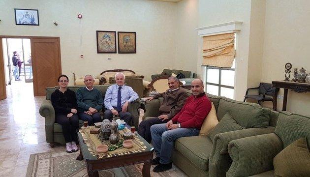 Jordan shoots film about its cultural sites, including Shevchenko Street and Park of Ukrainian-Jordanian Friendship