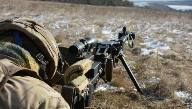 One Ukrainian soldier killed, two wounded in Donbas over past day