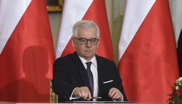 Poland wants to improve relations with Ukraine and Belarus – Czaputowicz
