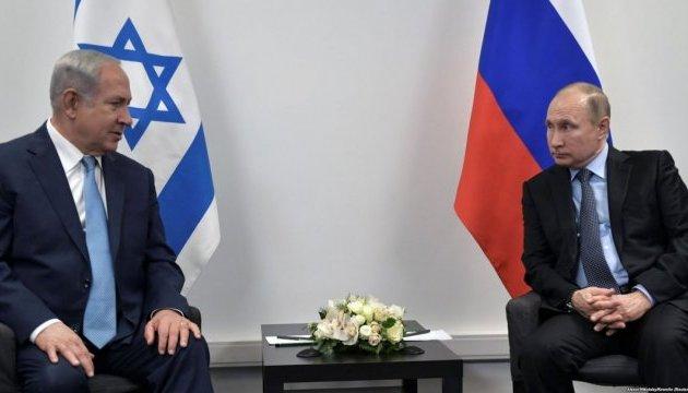 Путін і Нетаньягу телефоном обговорили ситуацію в Сирії