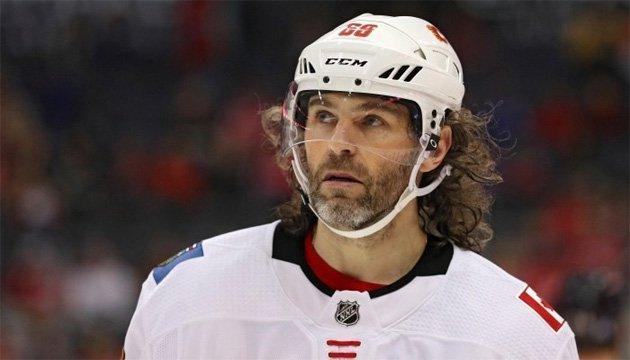 Хоккей: Ягр покинул