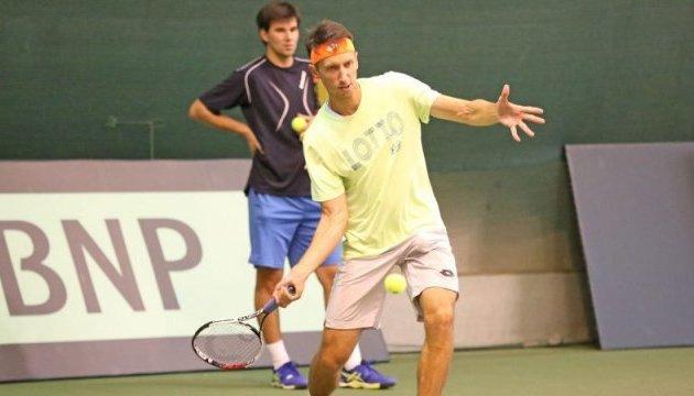 Теннис: мужская сборная начала подготовку к матчу Кубка Дэвиса со шведами